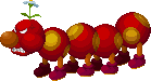 Sprite of Wiggler from Mario & Luigi: Superstar Saga + Bowser's Minions.
