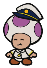 The Princess Peach's captain in Paper Mario: The Origami King