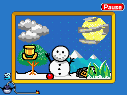 Microgame It's Cold! from the Big Name Games category.