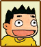 Icon for Mizushina Takayuki, one of the famous people who created microgames for WarioWare: D.I.Y.