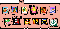 World 4 Map - Yoshi's Island DS.png