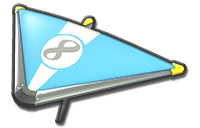 Thumbnail of Dry Bones's Super Glider (with 8 icon), in Mario Kart 8 Deluxe.