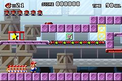 Level 1-mm in Mario vs. Donkey Kong
