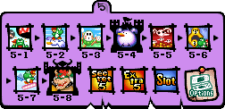 World 5 Map - Yoshi's Island DS.png