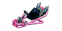 Pink Pipe Frame from Mario Kart 7