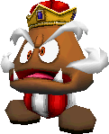 Goomboss in the game Super Mario 64 DS.