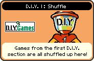 Shuffle portrait from WarioWare: D.I.Y.