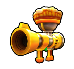 Pie Bazooka from Mario Kart Arcade GP DX.