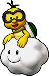 Sprite of Lakitu's team image, from Puzzle & Dragons: Super Mario Bros. Edition.