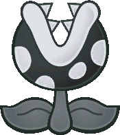 A Pale Piranha from Paper Mario: The Thousand-Year Door.