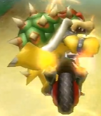 Bowser performing a Trick