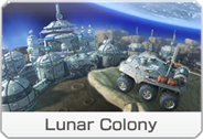 Lunar Colony icon from Mario Kart 8 Deluxe.
