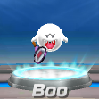 Boo in tennis from Mario Sports Superstars