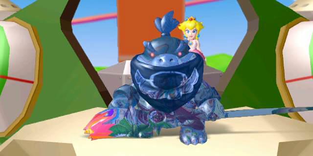 Bowser Jr. reveals himself in Super Mario Sunshine