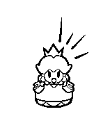 A Stamp from Mario vs. Donkey Kong: Tipping Stars.