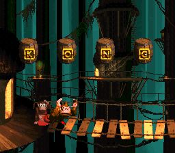 The first Bonus Area of Tree Top Town