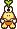 Overworld sprite of an Elite Troopea from Mario & Luigi: Superstar Saga.