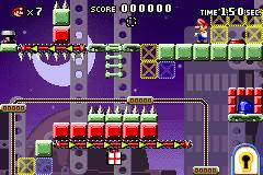 Level 6-5 in Mario vs. Donkey Kong