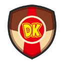 Donkey Kong's emblem from soccer from Mario Sports Superstars