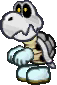 A Dry Bones from Paper Mario: Sticker Star