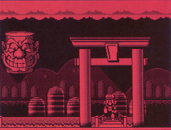 Screenshot of the unreleased game VB Mario Land