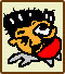 Icon for Sekai no Nabeatsu, one of the famous people who created microgames for WarioWare: D.I.Y.