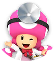 DrMarioWorld - Icon Toadette.png