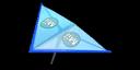 Blue Mii's Super Glider in Mario Kart 7