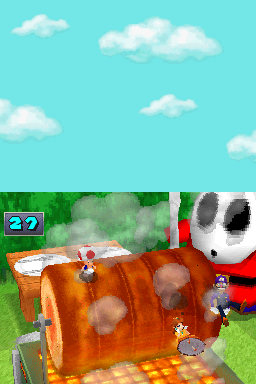 Rotisserie Rampage from Mario Party DS