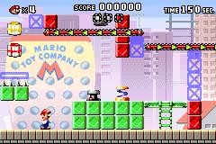 Level x-1 in Mario vs. Donkey Kong