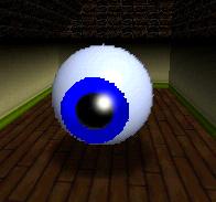 Big Mr. I in the game Super Mario 64.