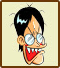 Icon for Kazutoshi Soyama, one of the famous people who created microgames for WarioWare: D.I.Y.