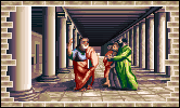 Aristotle in the PC release of Mario's Time Machine