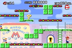 Level 1-4 in Mario vs. Donkey Kong