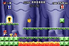 Level 3-3+ of Mario vs. Donkey Kong