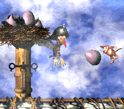 Krow's Nest from Donkey Kong Country 2: Diddy's Kong Quest