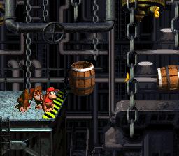 The last Bonus Stage in Oil Drum Alley