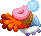 Sprite of a Malibut from Mario & Luigi: Superstar Saga + Bowser's Minions.