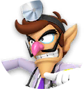 Icon of Dr. Waluigi from Dr. Mario World