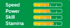 Sticks' stats in Rio 2016 3DS