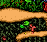 """The location of Jungle Hijinxs' Sticker Pad in the prototype of Donkey Kong Country'""""`UNIQ--nowiki-00000000-QINU`""""'s Game Boy Color remake"""