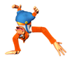 A sticker of Lanky Kong as featured in Super Smash Bros. Brawl