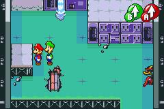 Hidden? Block location in Woohoo Hooniversity, in Mario & Luigi: Superstar Saga.