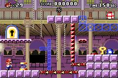 Level 4-2 in Mario vs. Donkey Kong