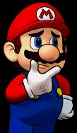 Mario portrait from Puzzle & Dragons: Super Mario Bros. Edition.