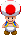 A red Toad from Mario & Luigi: Dream Team.