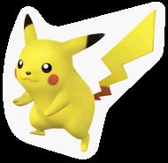 A Sticker of a Pikachu.