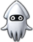 A sprite of a Blooper Chopper from Mario Party: Island Tour