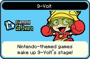 9-Volt's portrait from WarioWare: D.I.Y.