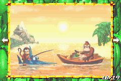 Page 18 of the Scrapbook in Donkey Kong Country